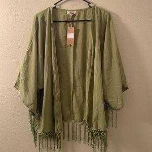 Light green kimono